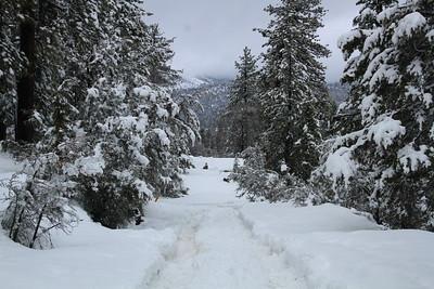Big Bear Snow Camping Weekend Feb 18-20, 2017