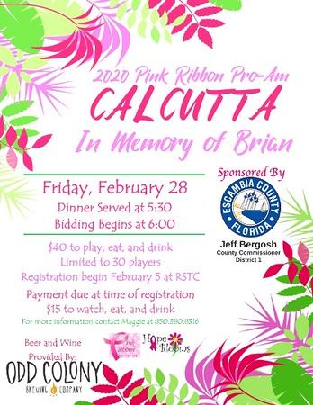 Calcutta 2020--In Memory of Brian