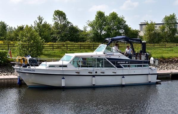 2016-06-05 Carmalou visits Ballinasloe Marina