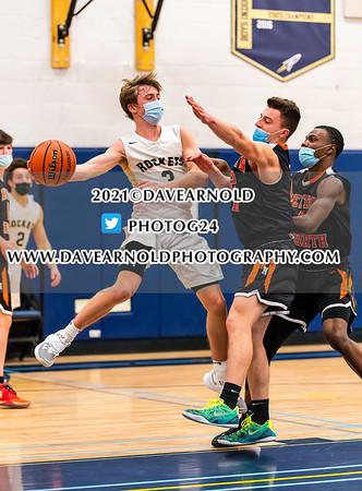 2/10/2021 - Boys Varsity Basketball - Newton North vs Needham