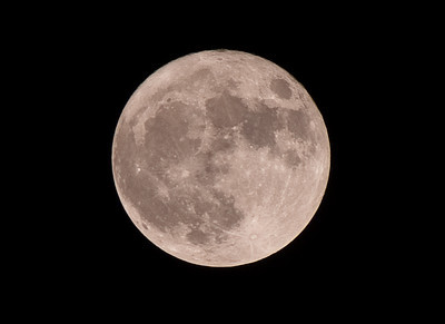 Astrophotography Supermoon