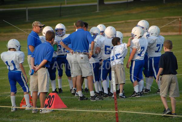 7-8th football at dakota . 9.15.09