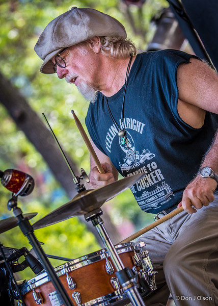 Scott Sansby-Lisa Wenger and her Mean Mean Men-Lowertown Blues Festival 2015-Mears Park-St. Paul MN