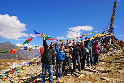 Золотая осень в Гималаях. 2017
