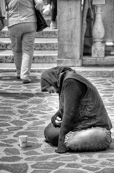 Beggars in Venice