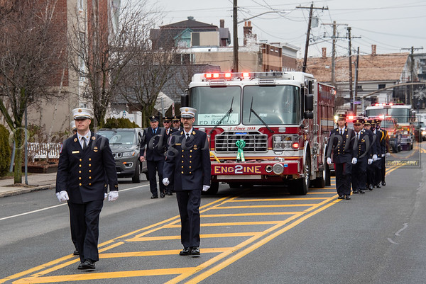 Funeral for Oyster Bay Co. 1 Ex-Chief Ed Rahilly 01/16/2021