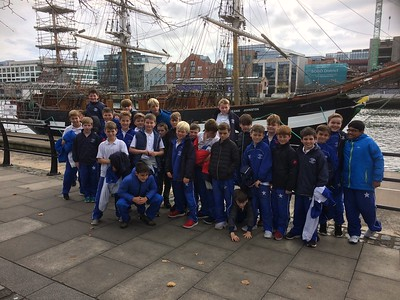 Class visit to the Jeanie Johnston Famine Ship