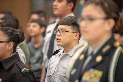 JFK ROTC Activation Ceremony