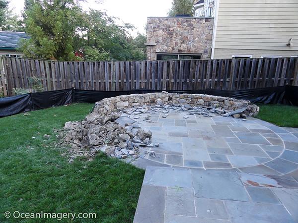 20161026 Arlington, VA. - Backyard Project Part 1