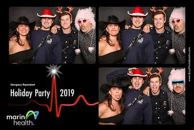 2019 Marin Health Holiday Party