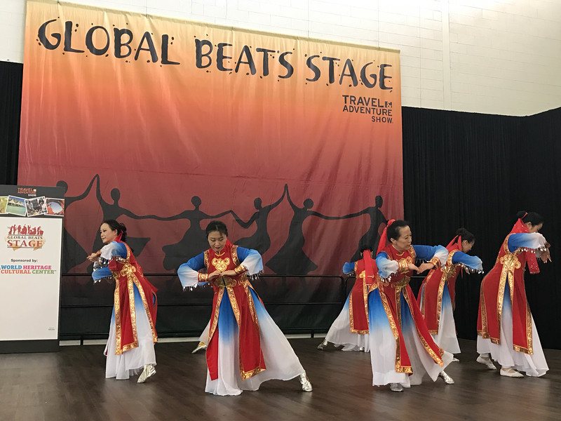 global beats stage travel and adventure show