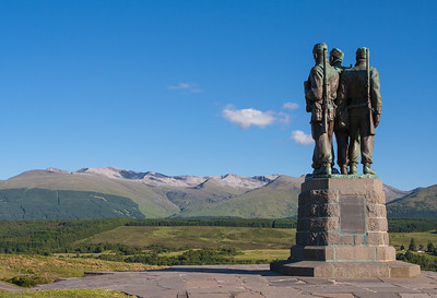 The Commando Monument, Spean Bridge