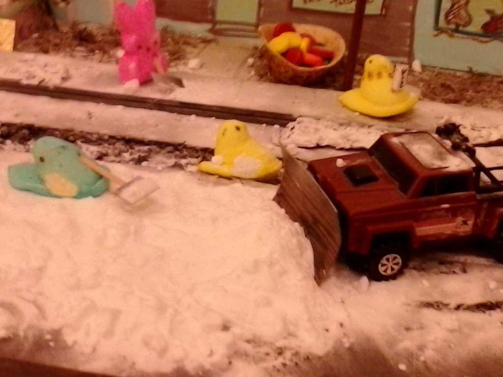 ". \""Peep Street Part 3: Snow removal on Peep Street East,\"" by Sage Holben"