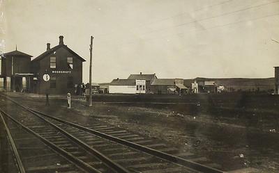 The old Moorcroft depot