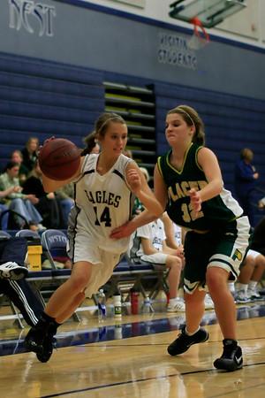 VISTA Girls JV Basketball 11-25-2009