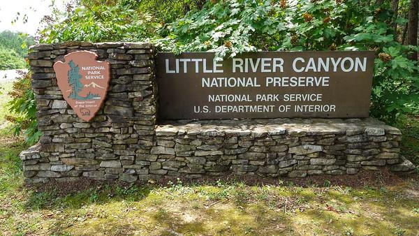 Little River Canyon National Preserve - AL - 072216