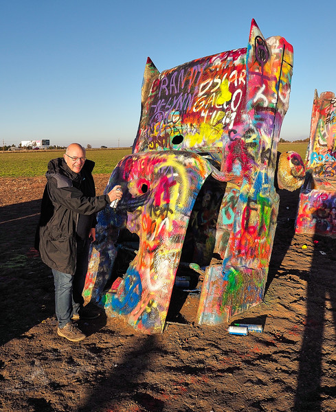 Route 66 - Cadillac Ranch, nr Amarillo, Texas