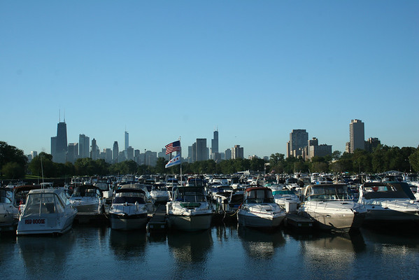 Summer at Lincoln Park, Chicago