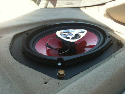 1995 Honda Accord LX Rear Speaker Installation