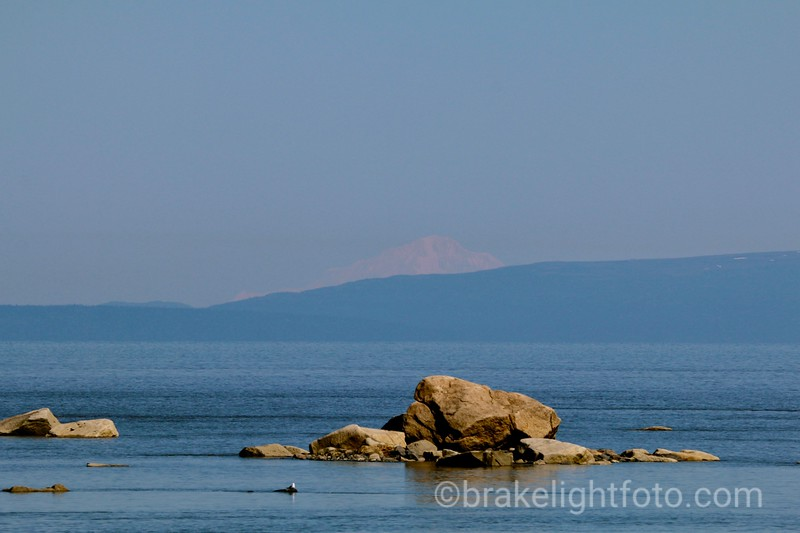 View Across Cook Inlet from Captain Cook State Recreation Area