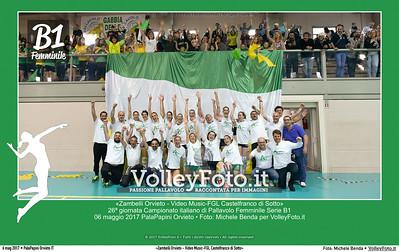 «Zambelli Orvieto - Video Music-FGL Castelfranco di Sotto» 26ª #B1Fvolley
