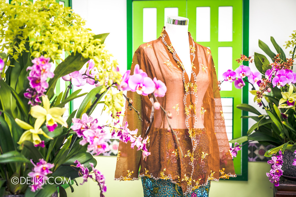 Gardens by the Bay - Orchid Extravaganza 2018 / Peranakan Exhibits Fashion
