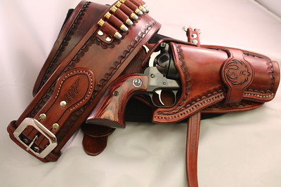 .357 Ruger Leather Holster 9/2017