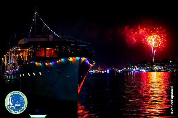 2019 Marina del Rey Holiday Boat Parade - All event pics