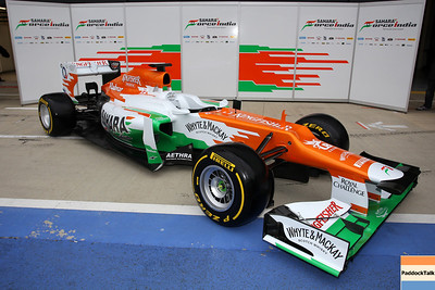 2012 Force India Launch