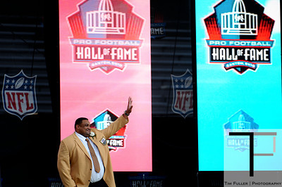 Pro Football Hall of Fame Enshrinement 8/4/12