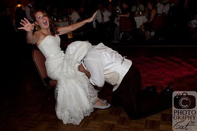 Wedding Challenge • 09/2011 • Bouquet & Garter Toss Emotions