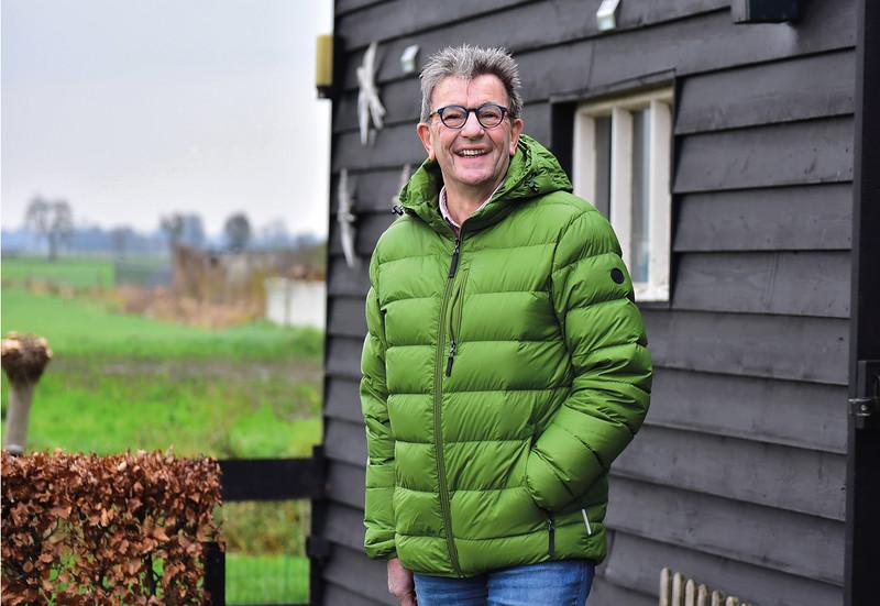 Harry van Dijk, Energiecooperatie Duurzaam Nijeveen  foto: Wim Goedhart