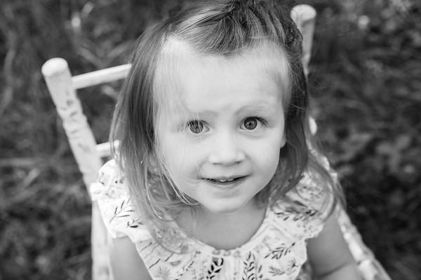 Emmy Ward, Age 3