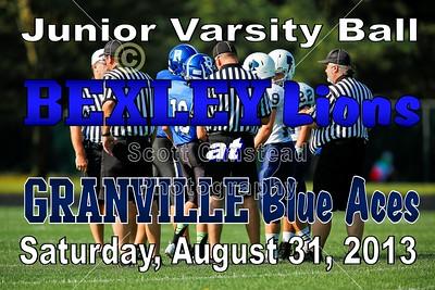 2013 Bexley at Granville  (08-31-13) Junior Varsity