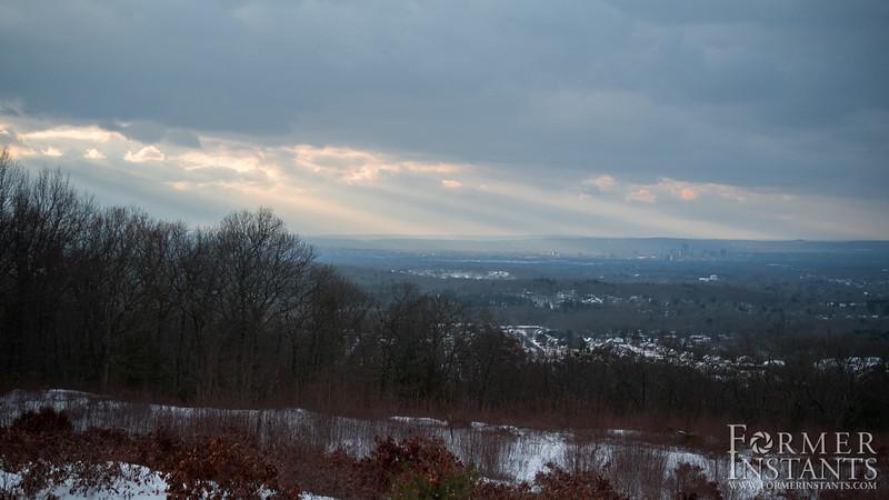Rays over Hartford