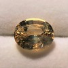 9.44ct Oval Peach Sapphire, with GIA No-Heat 7