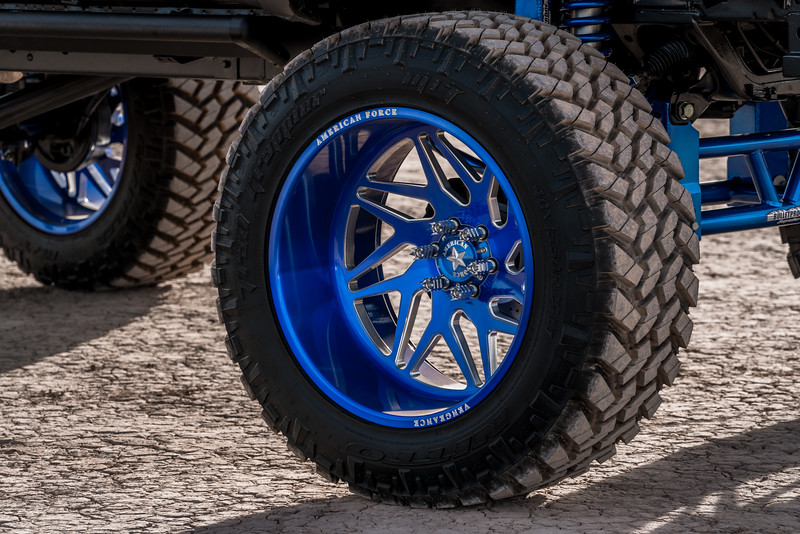 @T_harper96 @Vengeance_tacoma 2005-15 Toyota Tacoma featuring our New 2019 Concave 24x14 Lollipop Blue #GENESIS wrapped in 40x1550x24 @NittoTire-47.jpg