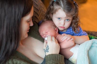 Arlo Lamica- 6 Day Old Newborn Portraits