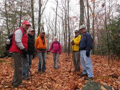November 16 Wednesday Hike
