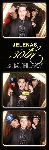 Jelena' 30th Birthday Photostrips