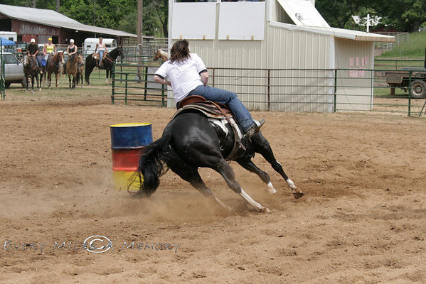Rock Bottom Chuck Wagon Races - Barrel Racing - Saturday - Arkansas