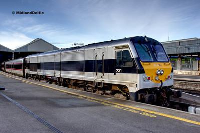 Dublin and Dun Laoghaire (Rail), 28-10-2019