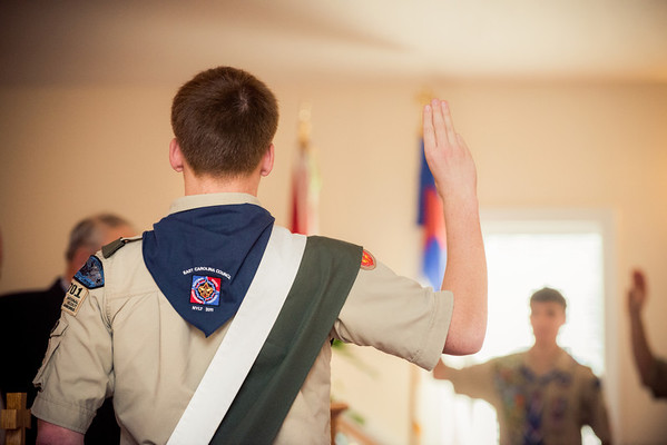 Schoolfield Eagle Scout Ceremony