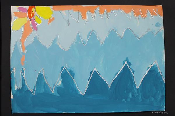 Kindergarten Winter Landscapes