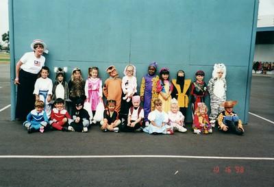 Derek and Sydney Halloween 2001