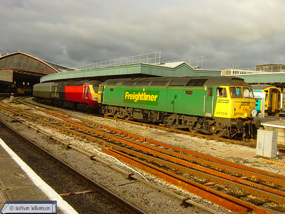 Class 47 / 57 Hauled Workings