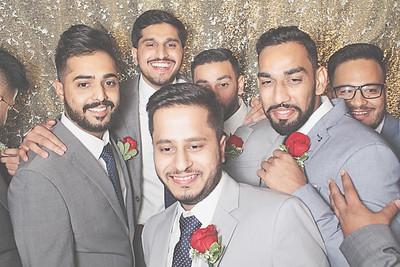 7-12-21 Atlanta Al-Noor Banquet Hall Photo Booth - Raza & Arshiya Wedding - Robot Booth