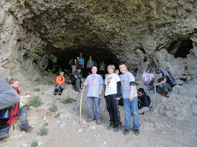 20140426 - Webelos Camp with Boy Scouts at Hawk Creek