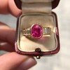 3.21ctw Burma N-Heat Ruby Ring, by Mellerio 5