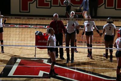 Volleyball vs. Robert Morris - Aug. 29, 2017 (Hall)